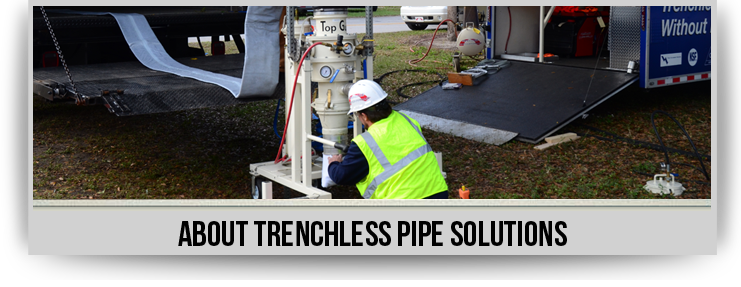 Trenchless Technology Saves Yards